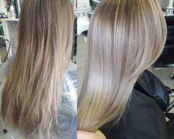 Кератиновое покрытие волос