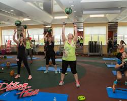 Групповые занятия фитнесом
