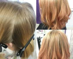 Окрашивание и женская стрижка