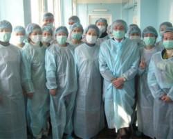 Клиника современной медицины в Благовещенске (иностранная делегация)